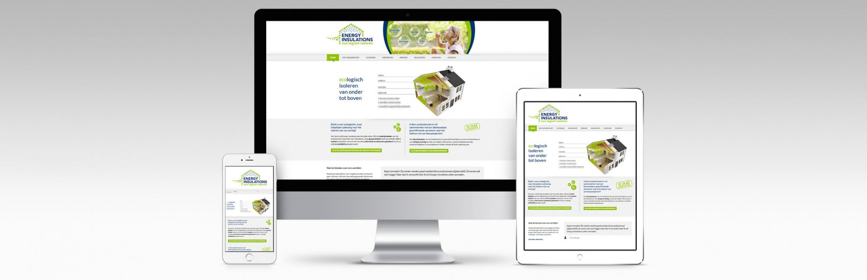 Energy Insulations website