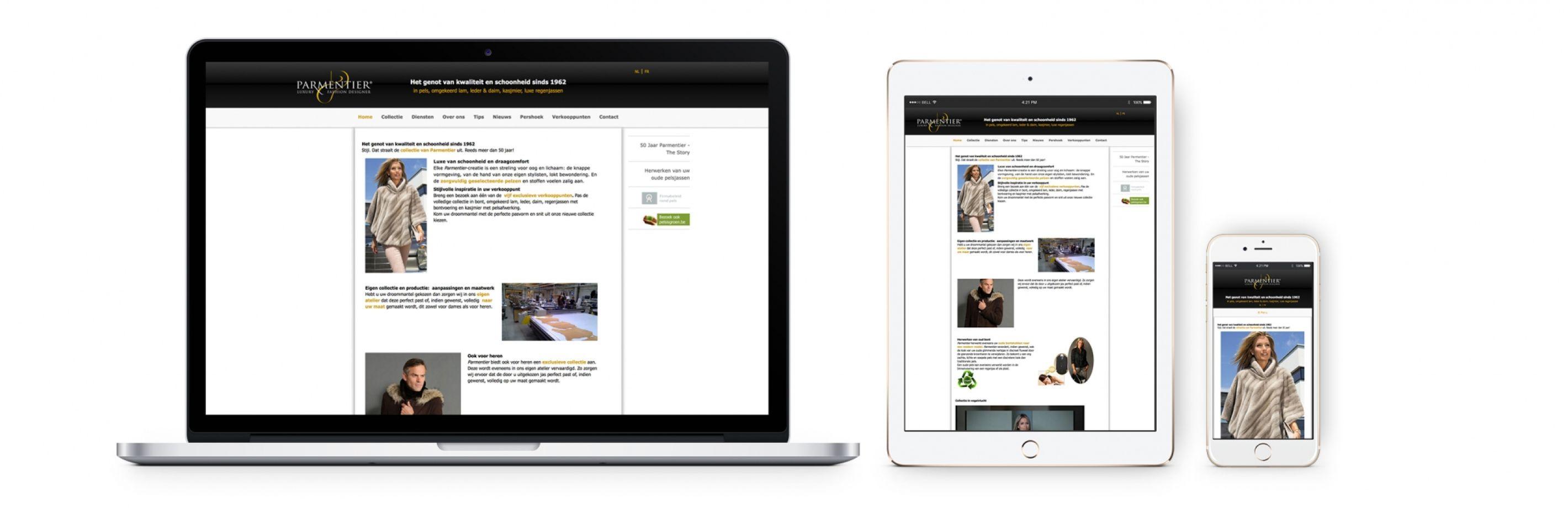 Parmentier website