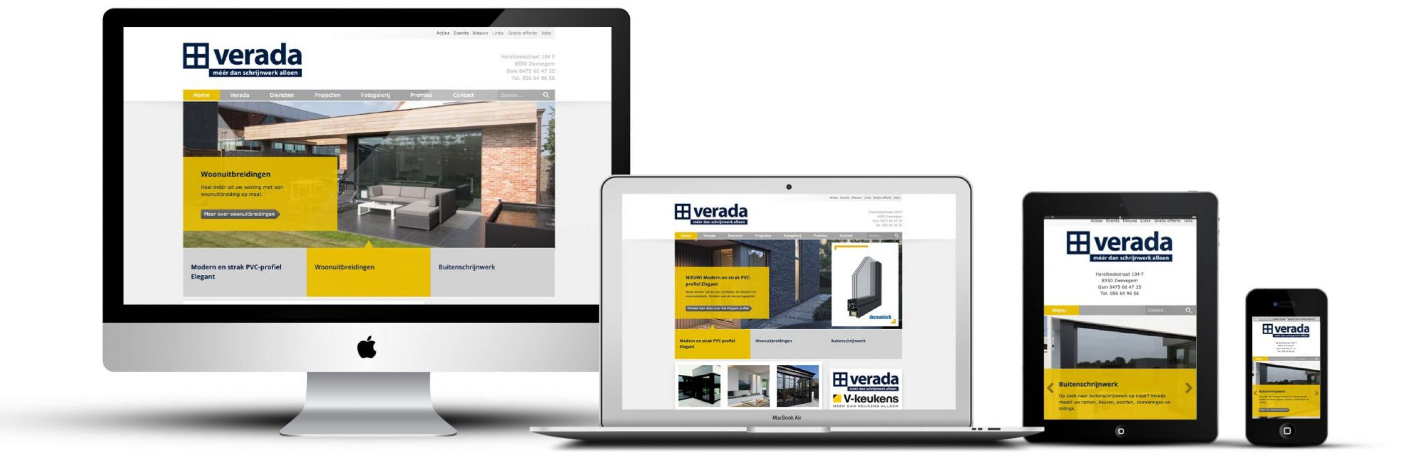 Verada website