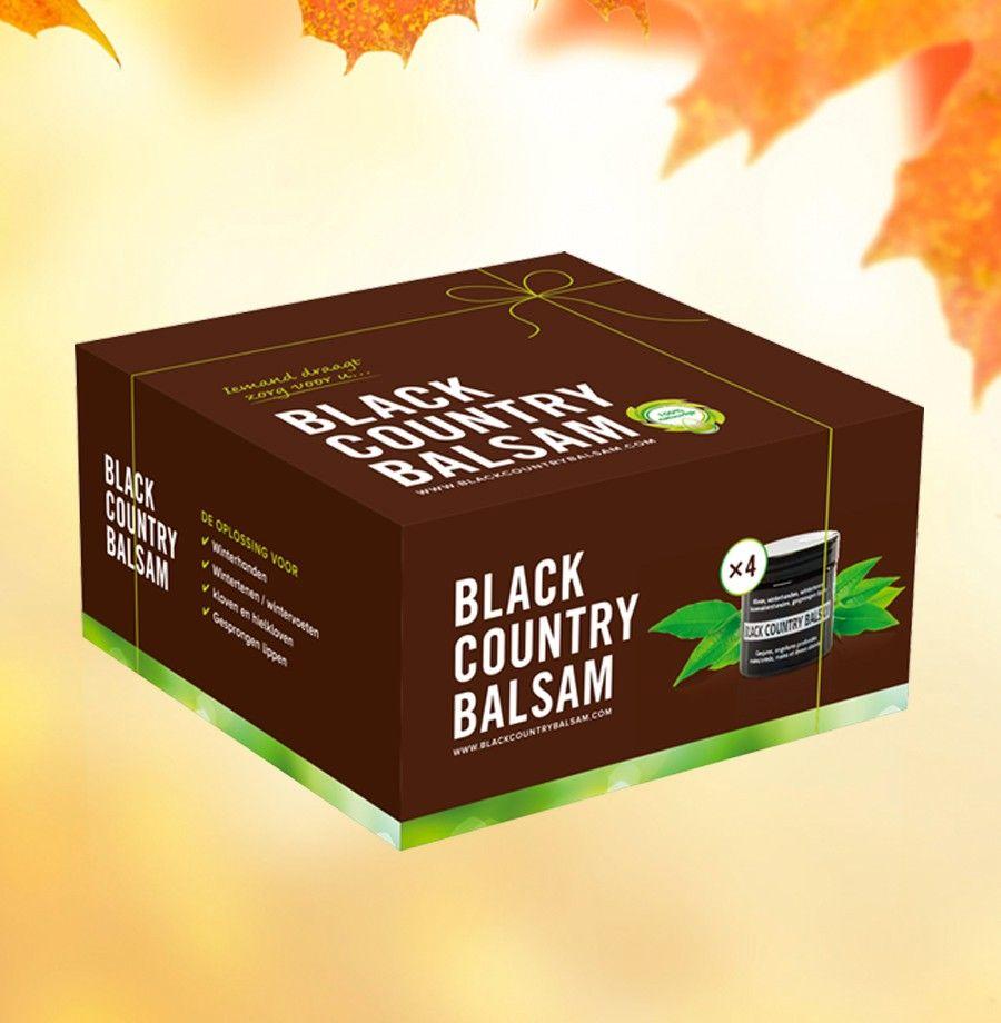 Verpakking voor Black Country Balsam