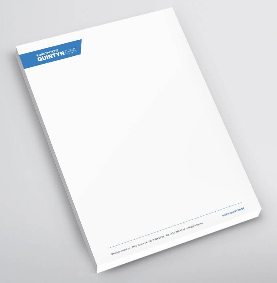Konstruktie Quintyn Notablok