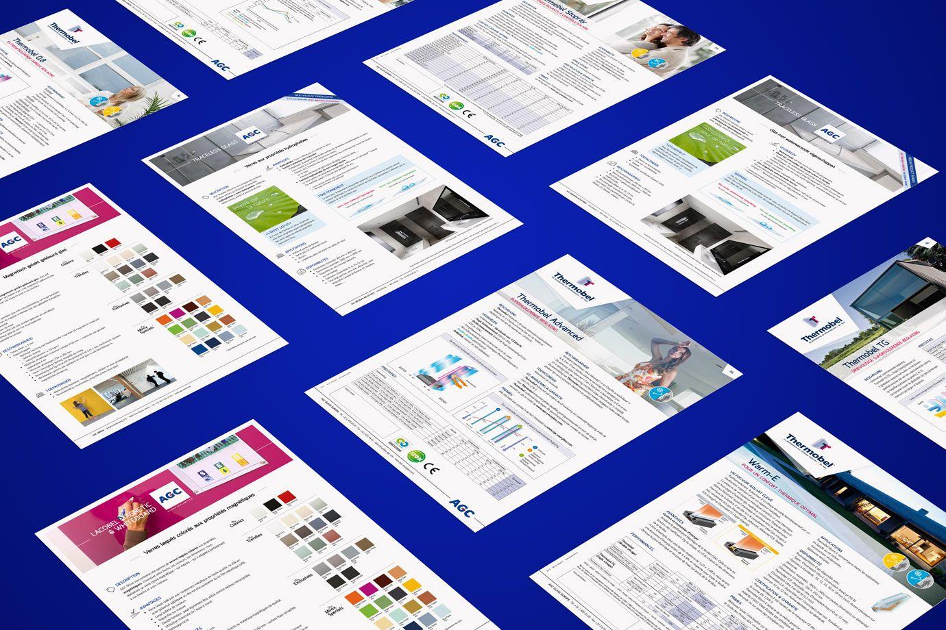 Productleaflets AGC