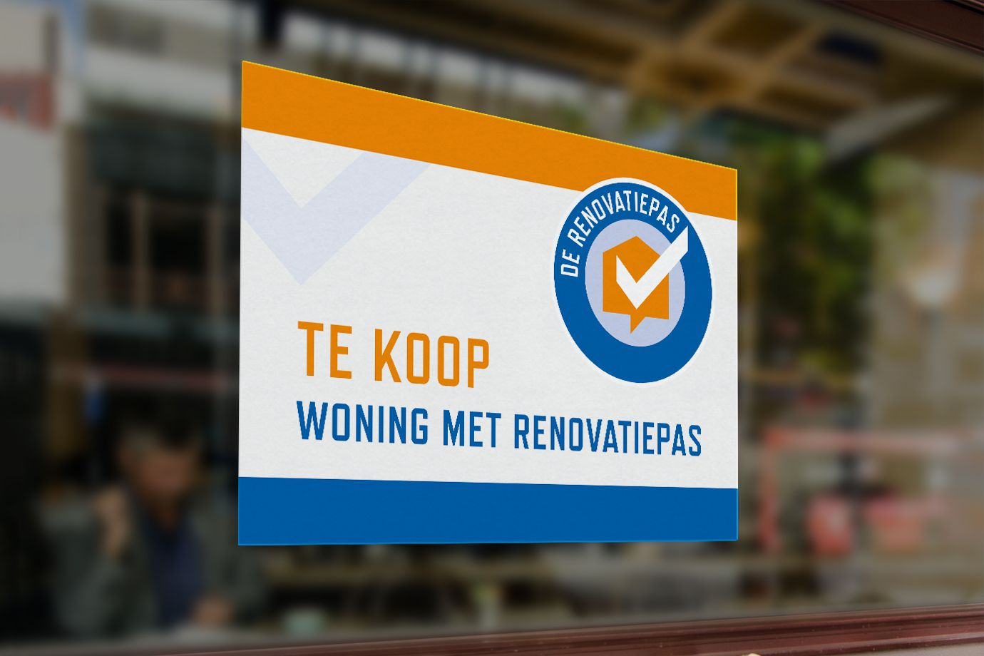 Renovatieadviseur Sticker