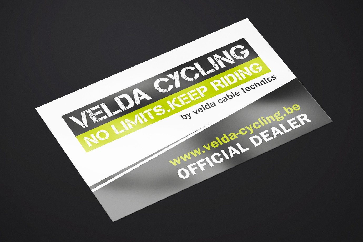 Velda sticker