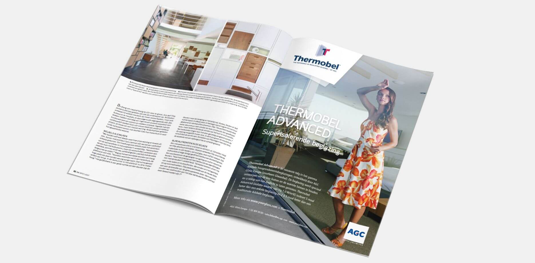 """AGC Advertentie Magazine """"Compleet wonen"""""""