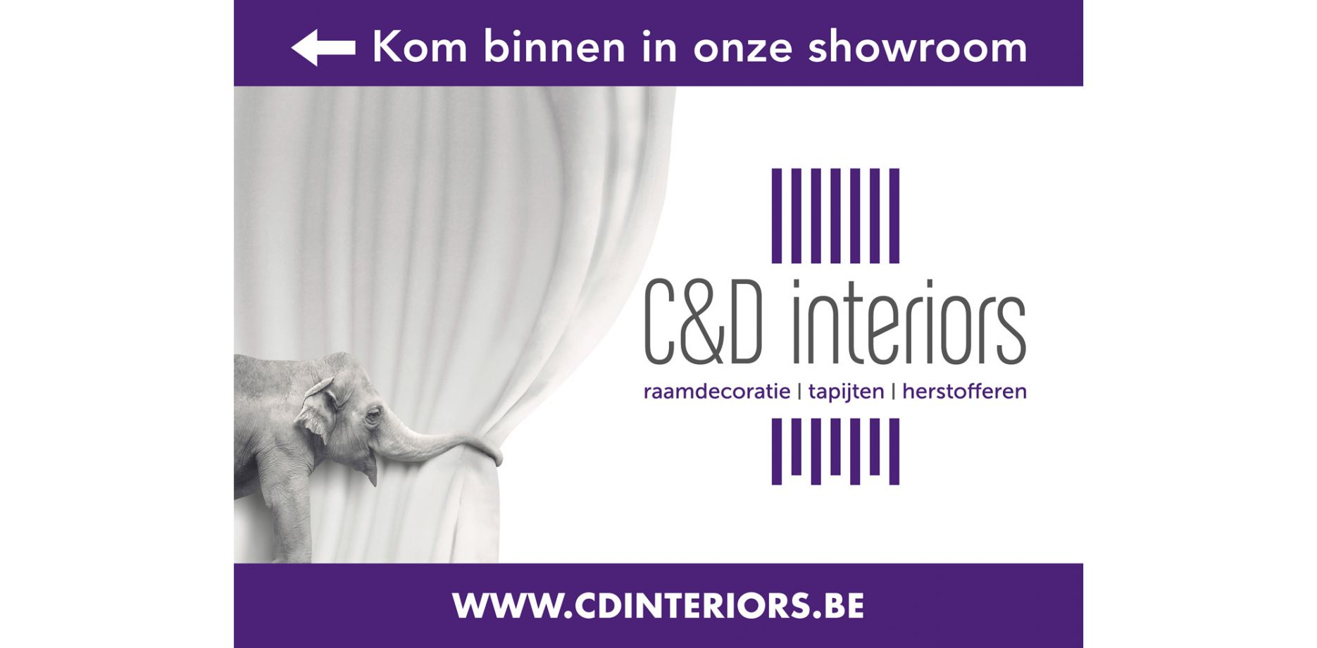 C&D Interiors spandoek