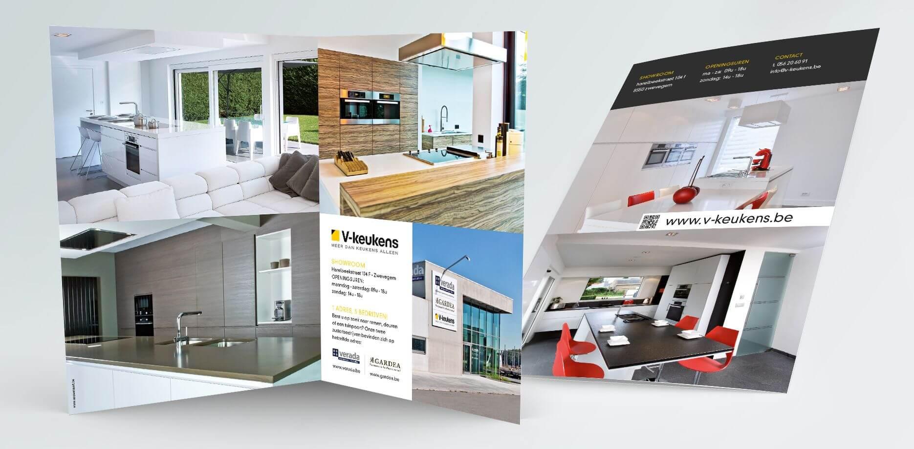 V-Keukens Leaflet