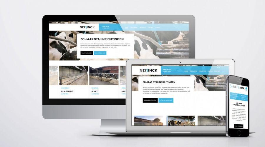 De vernieuwde Neirinck website