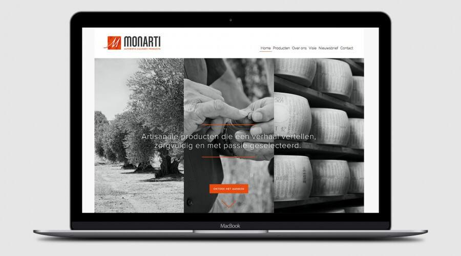 Monarti Website