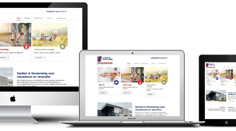 Soenens cv website